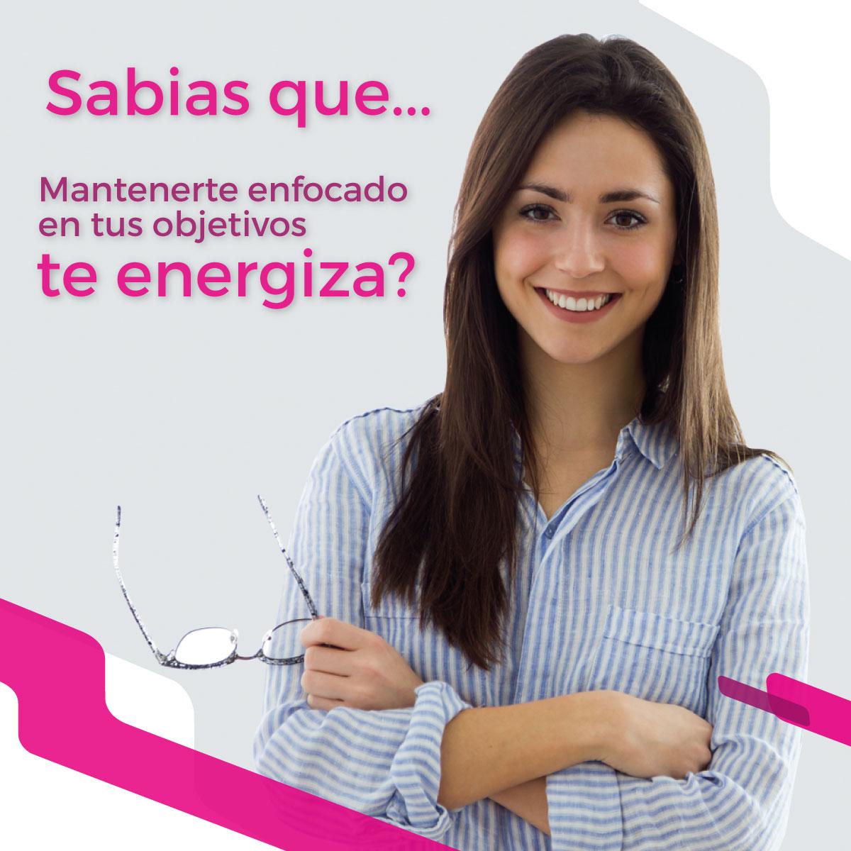 Enfoque que energiza